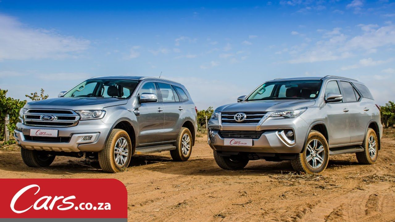 Toyota fortuner vs ford everest in depth comparison review 2016
