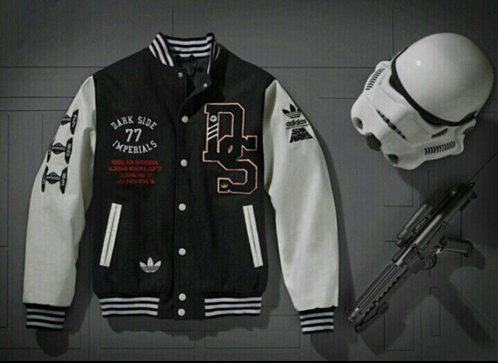 online store f525a 2bc0c Adidas baseball jacket x Star Wars