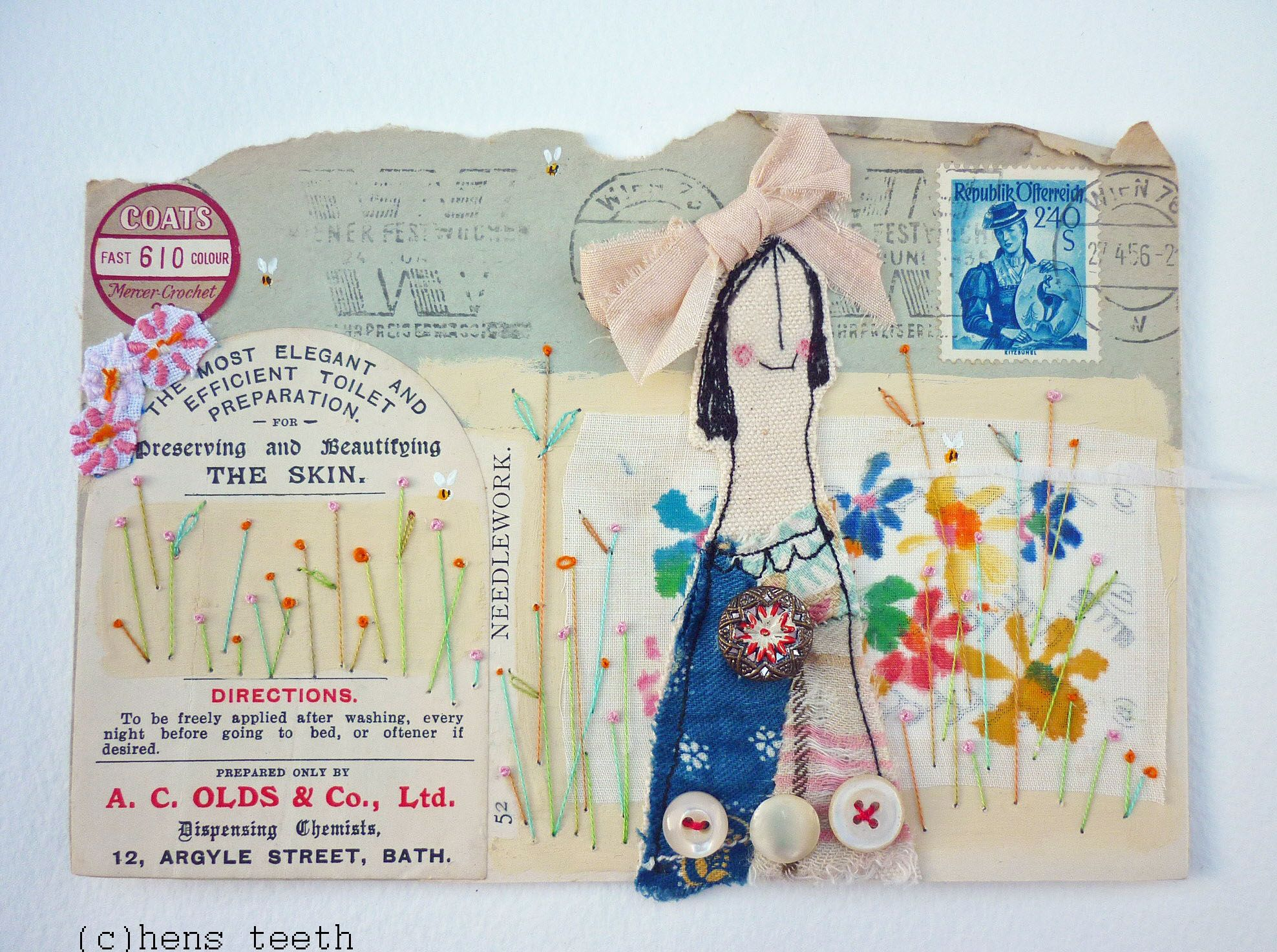 mail art by HensTeeth Viv Sliwka