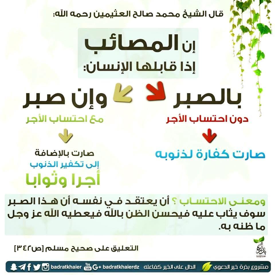 Pin By Samira Boudia On اقوال ابن خ Islam Words Arabic Words