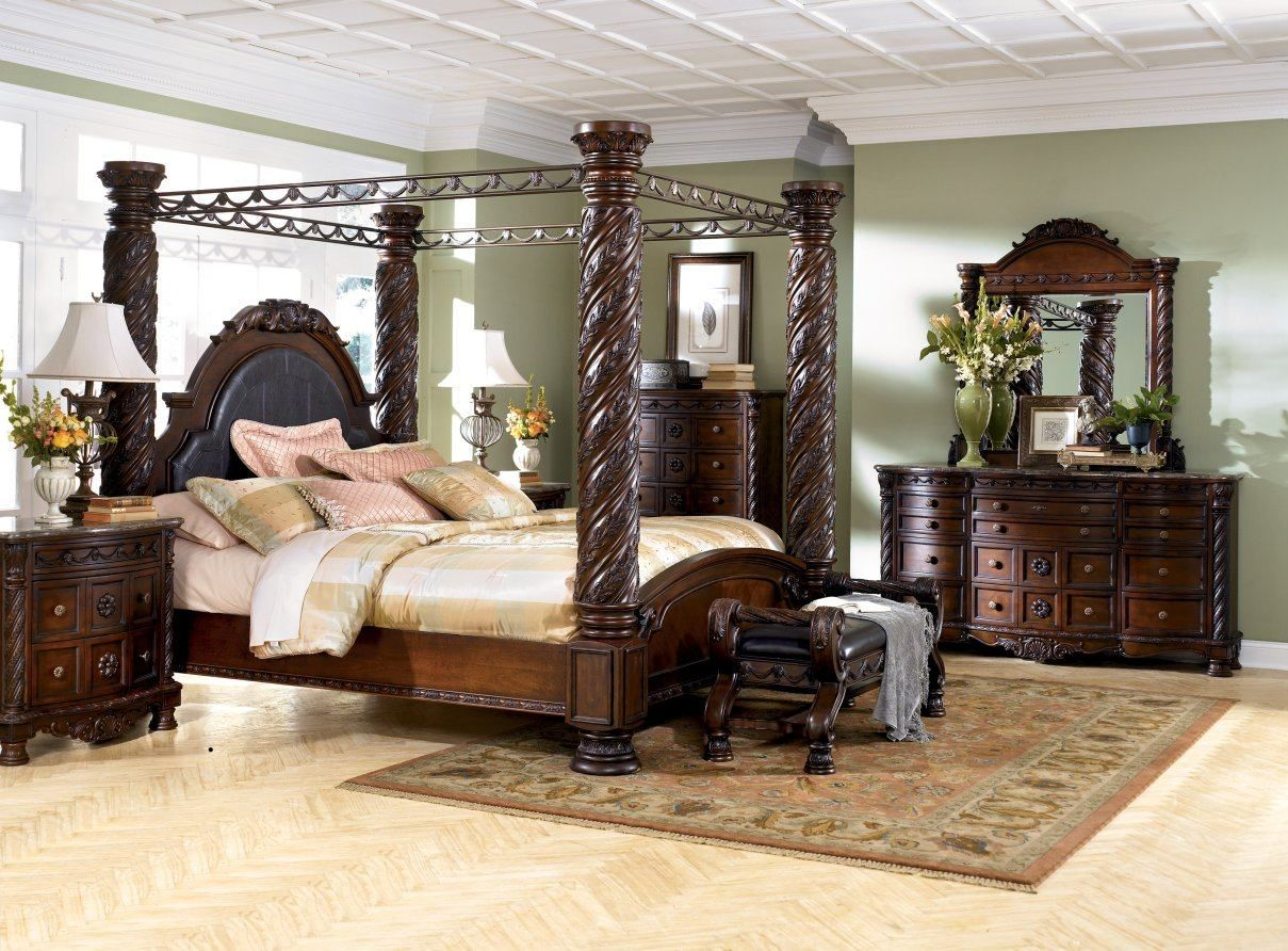 High Quality Contemporary Canopy Bedroom Sets