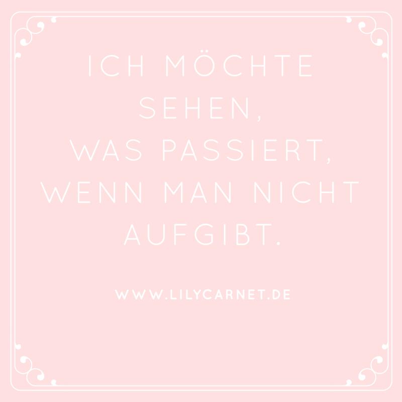 http://www.lilycarnet.de Motivation Monday! Über was bloggt ihr heute?