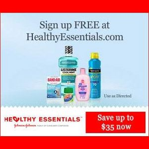 photo relating to Johnson and Johnson Coupons Printable referred to as ▻▻ Totally free Healthier Basic principles - Johnson Johnson - Free of charge