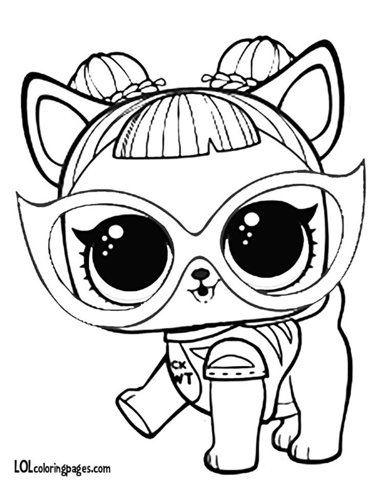Image Of Lol Mascotas Para Colorear Lol Surprise Coloring Pages Pets