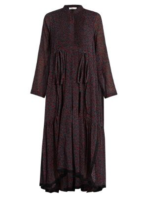 Cheap Sale Shopping Online Silk-blend dress Chloé How Much Outlet From China Safe Payment drbIse