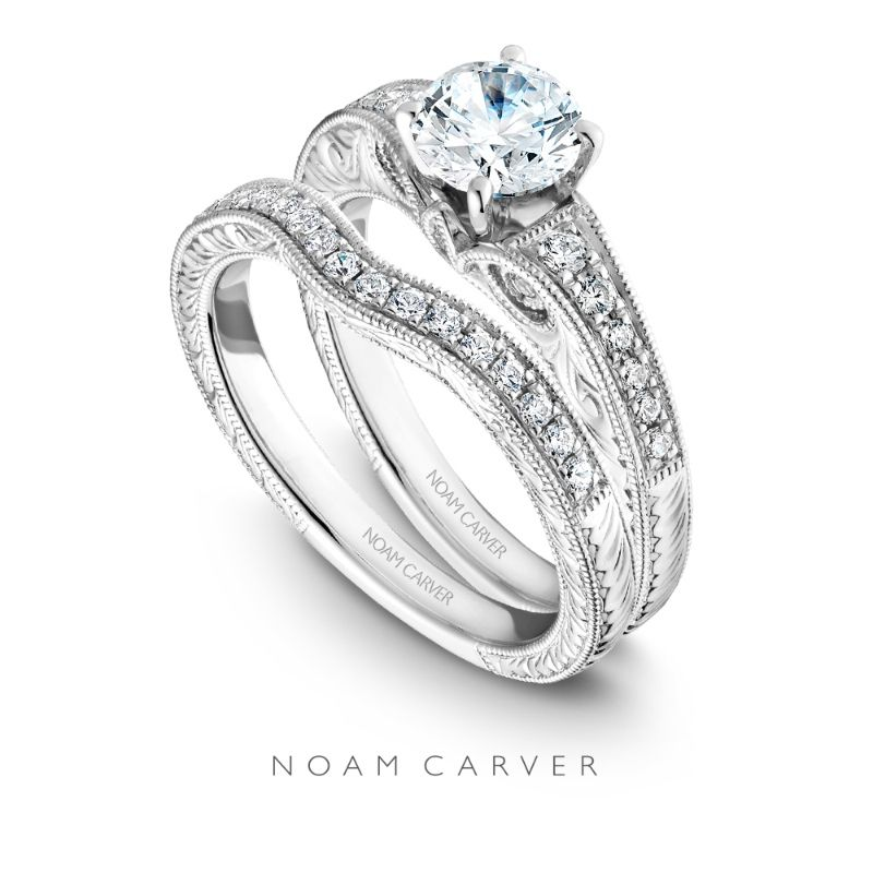 Love Means Forever. A Vintage-inspired Bridal Set By Noam