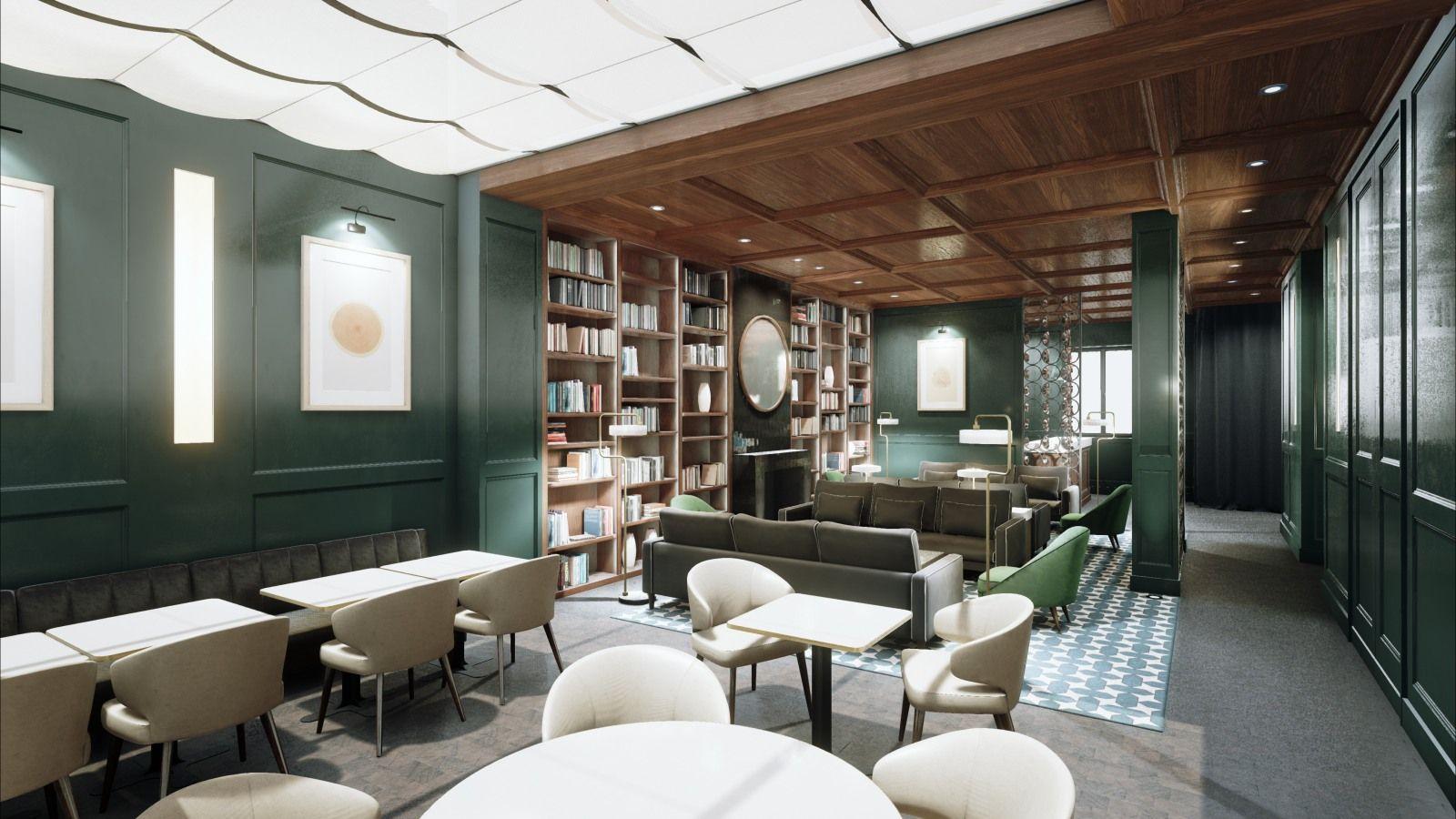 Lobby Leroch Hotel & Spa Paris T L