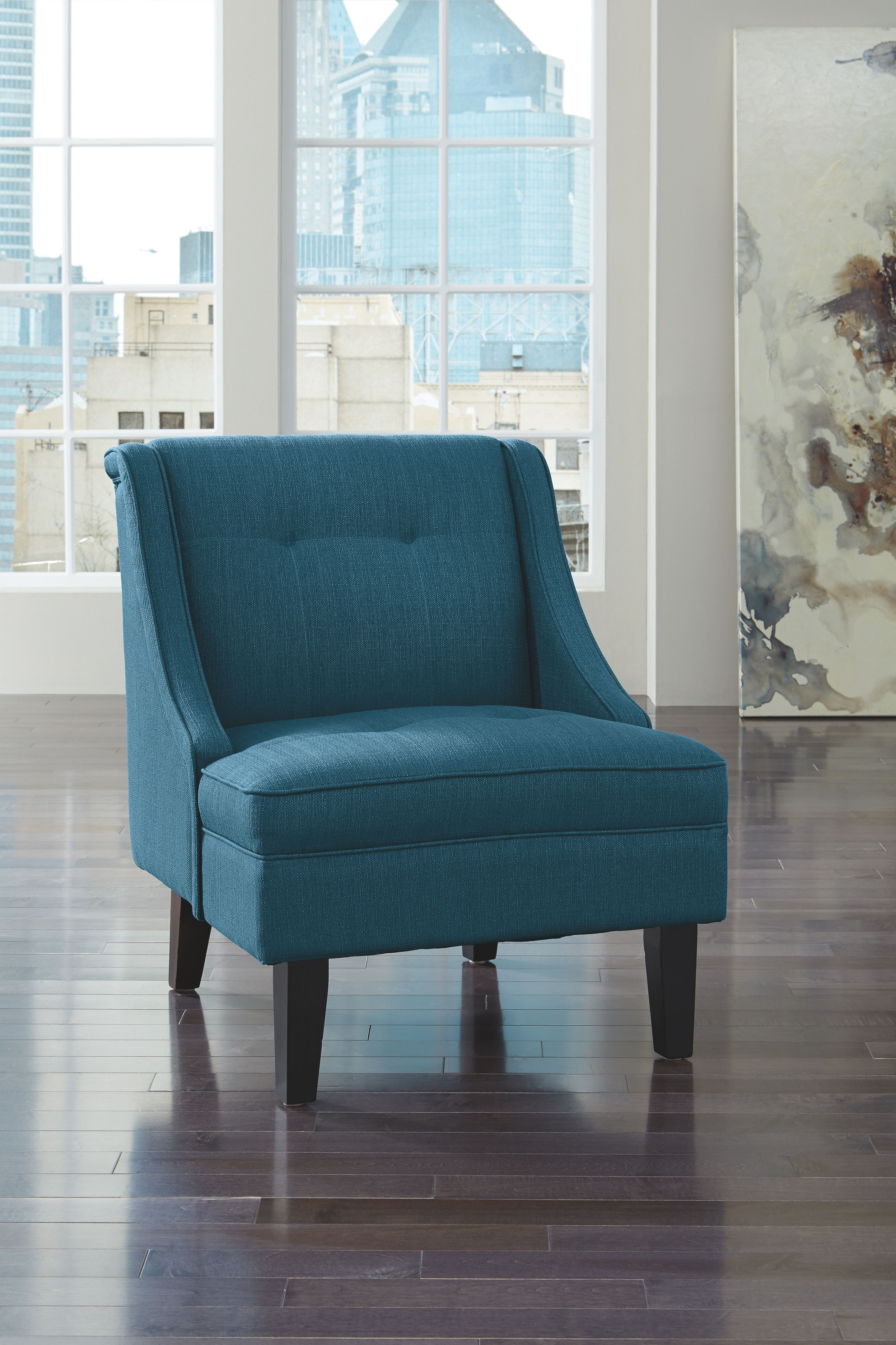 Clarinda Accent Chair Blue Blue Accent Chairs Furniture