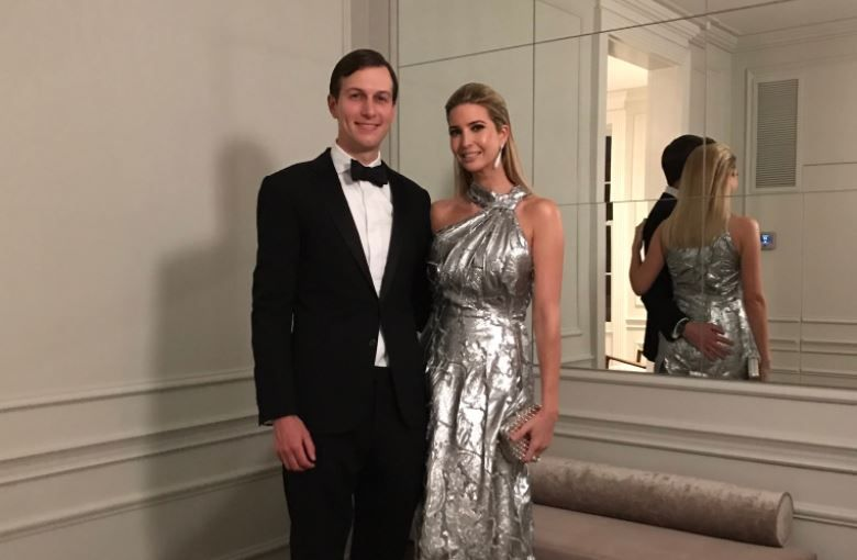 Ivanka Trump And Husband Jared Kushner He Has His Hand On Her Ass