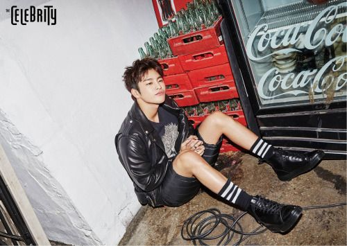 Seo In Guk - The Celebrity Magazine January Issue '16