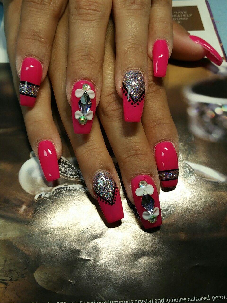 Cherryblossoms nail art by Roxy Ch - Nailpolis: Museum of