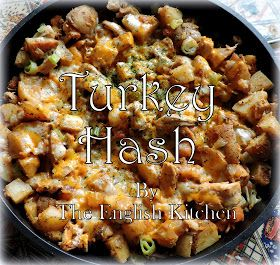 I know what you are thinking . . .  Turkey Hash?  It's not anywhere near a holiday is it.  Well, unless you count Pancake Day (...
