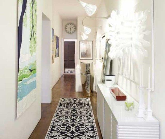 Como decorar vestibulos pequenos el hall de entrada - Decorar una entrada estrecha ...