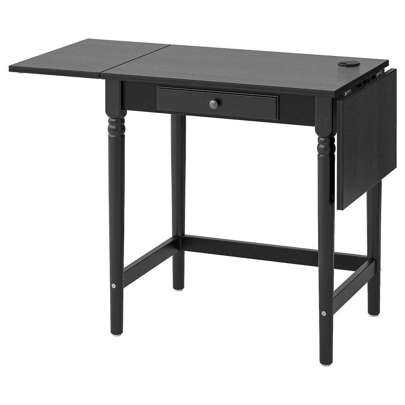 Ingatorp Desk Black 28 3 4x19 5 8 Ikea In 2020 Black Desk Desk Ikea