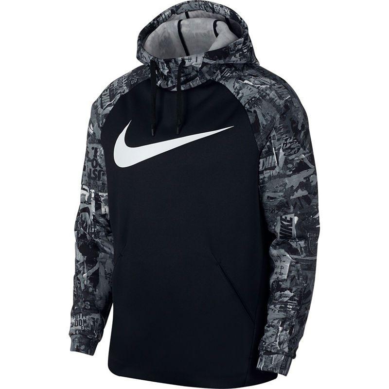 72982ecb98f Nike Mens Long Sleeve Moisture Wicking Hoodie-Big and Tall ...