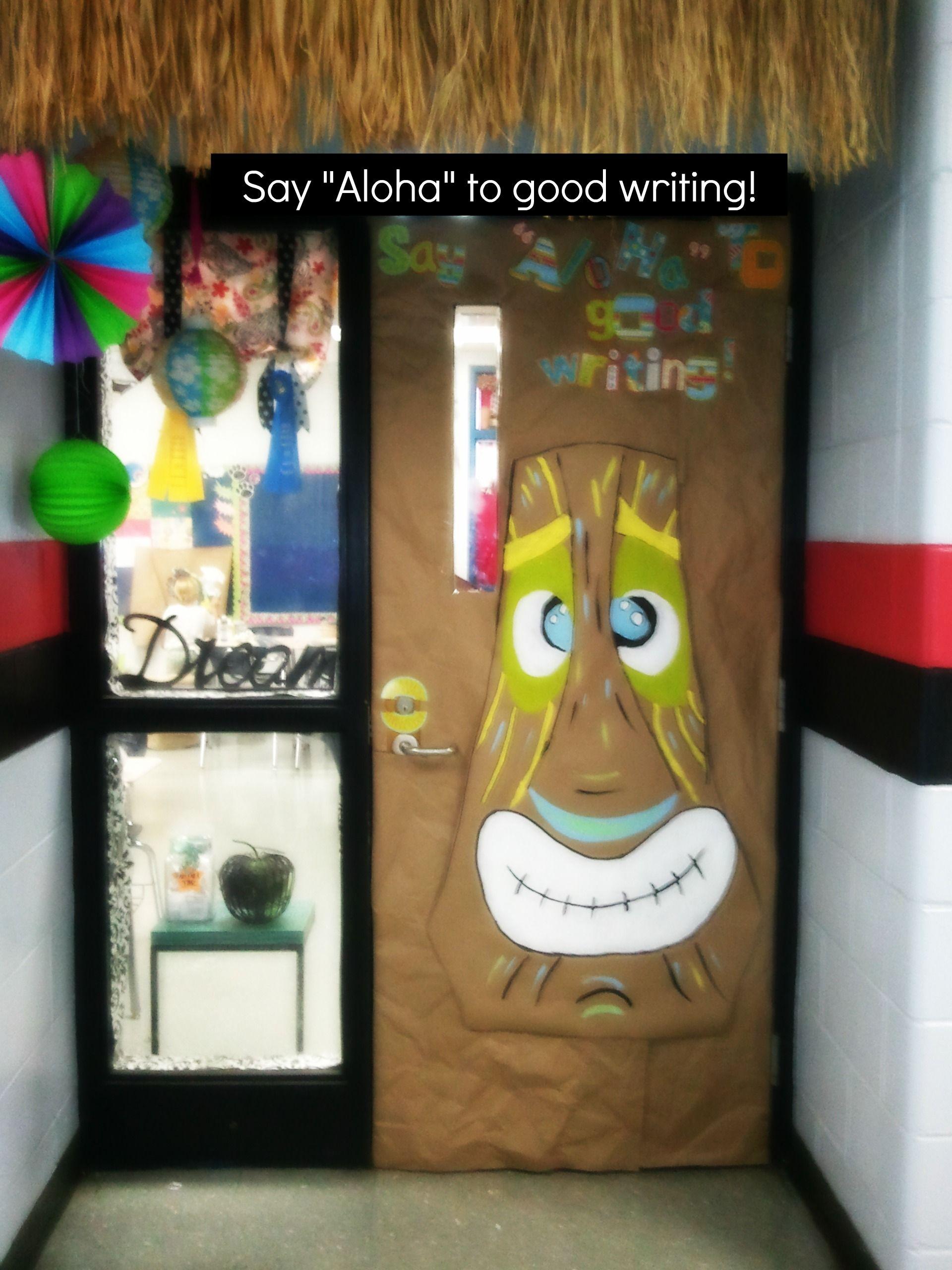 My Island Themed Door