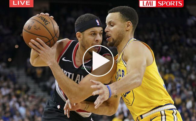 new style 4ee7a a1308 golden state warriors vs portland trail blazers