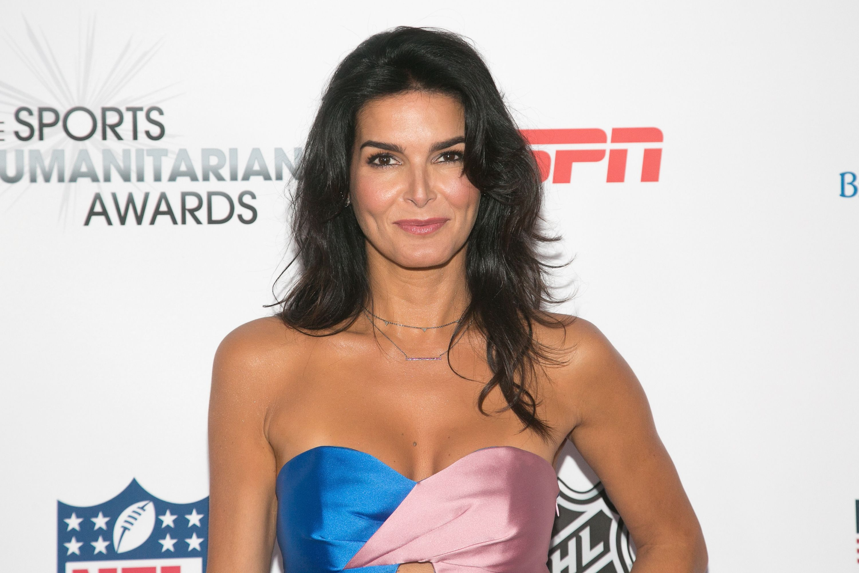 angie harmon is dating — but don't expect to see her on tinder