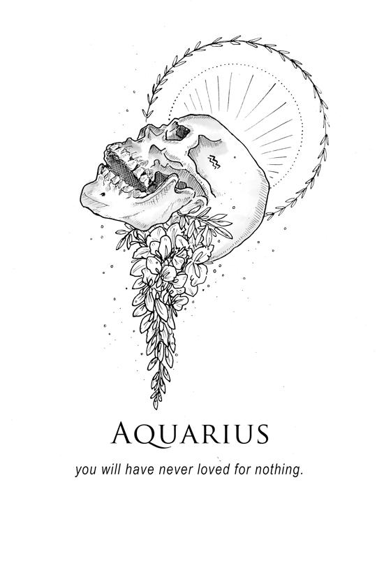 Not An Aquarius But Zodac Signs Art Pinterest Verseau Signe