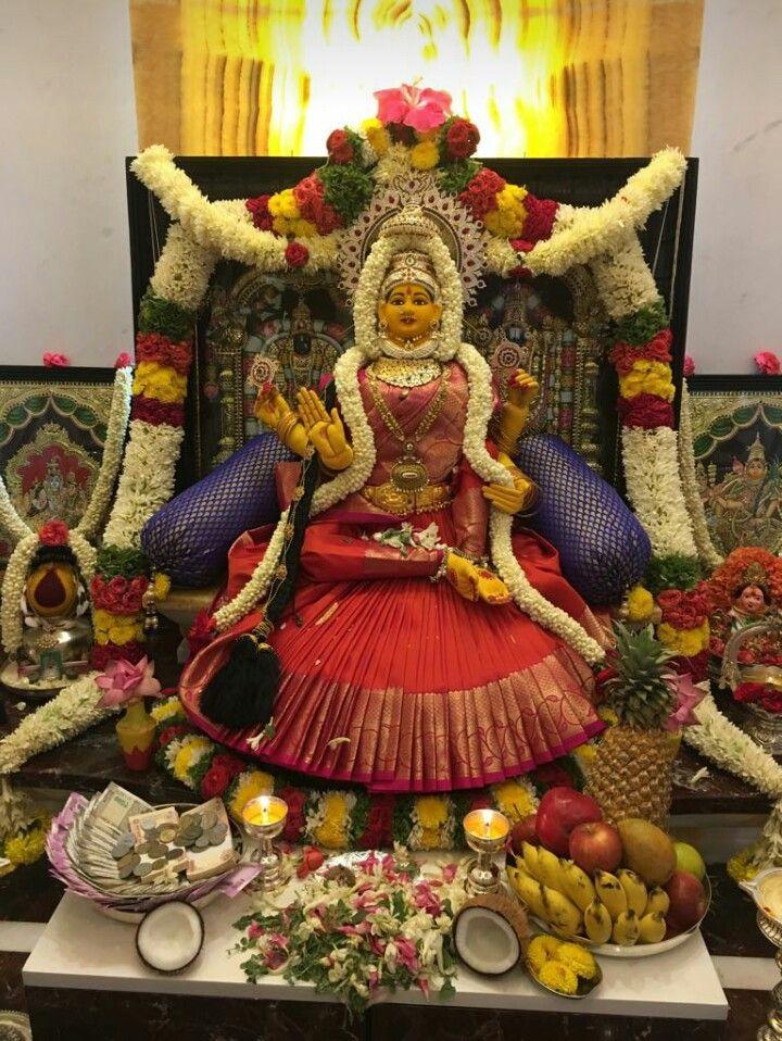 Lakshmi Puja Room Diwali Rangoli Goddess Lakshmi