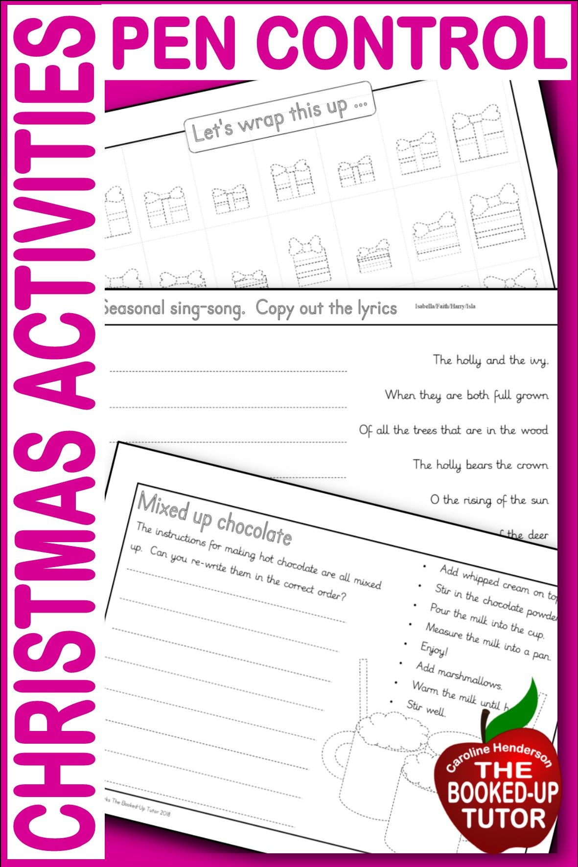 Handwriting Worksheets Dysgraphia Pencil Control