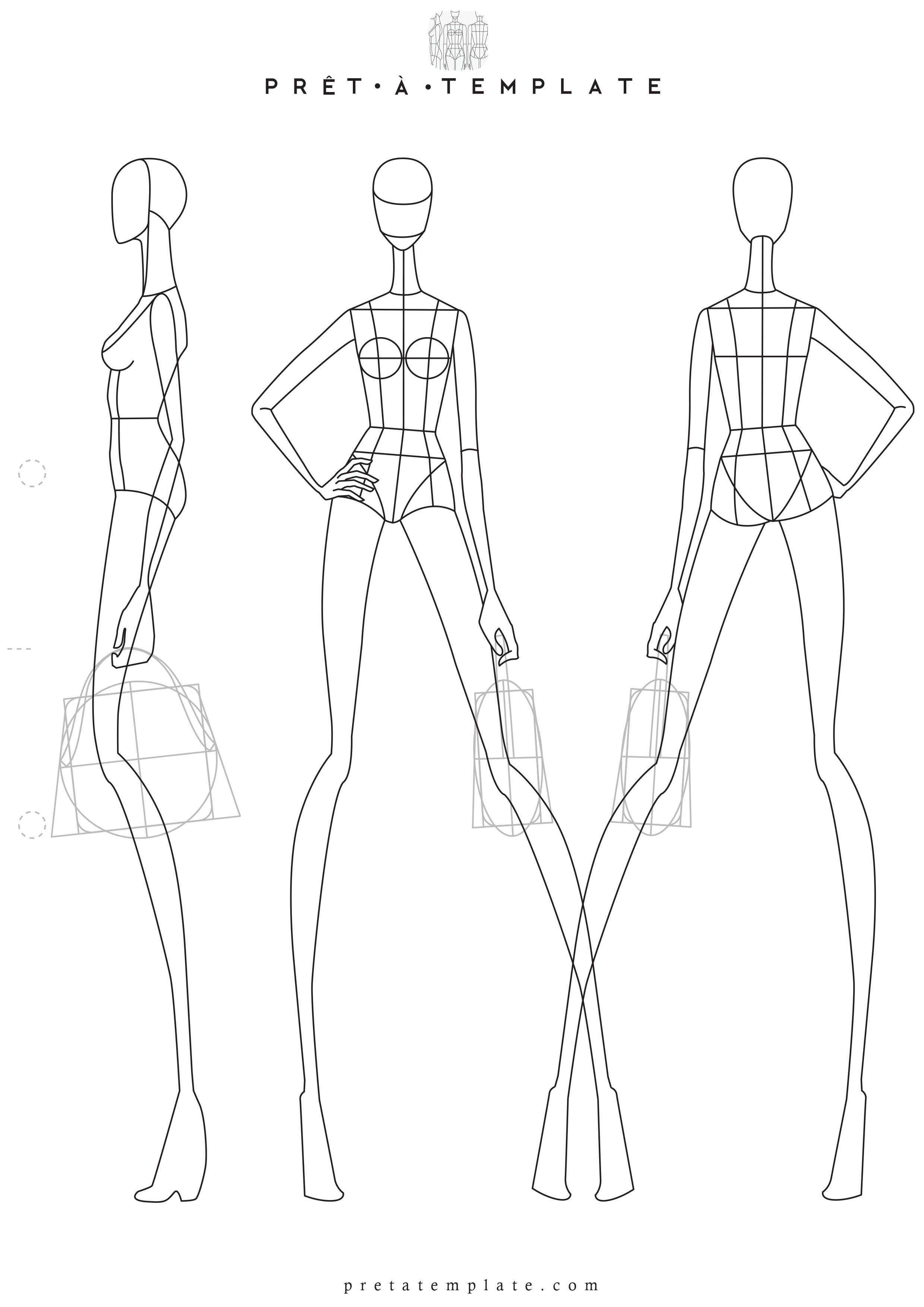 How to Draw a Fashionable Dress