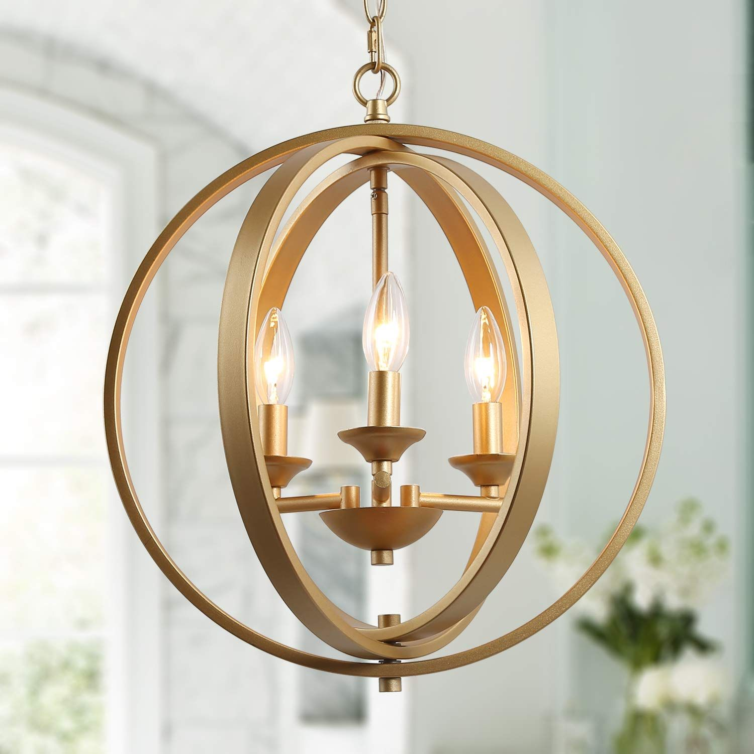 KSANA Gold Orb Chandelier** Check out this great product-affiliate