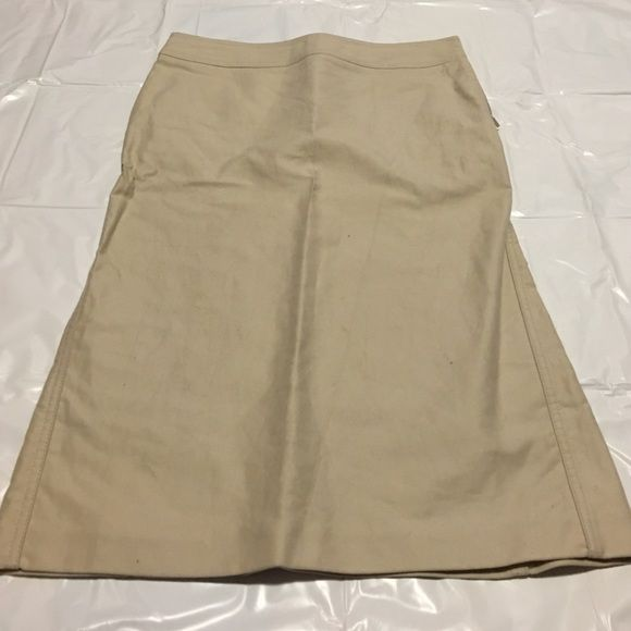 Gucci Pencil Skirt Soft pencil skirt that lies between knee and ankle. Gently flows out at the bottom. Made in Italy - Size 42 Gucci Skirts