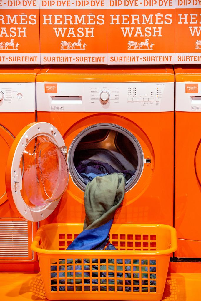 An Hermès Laundromat Is Coming To New York