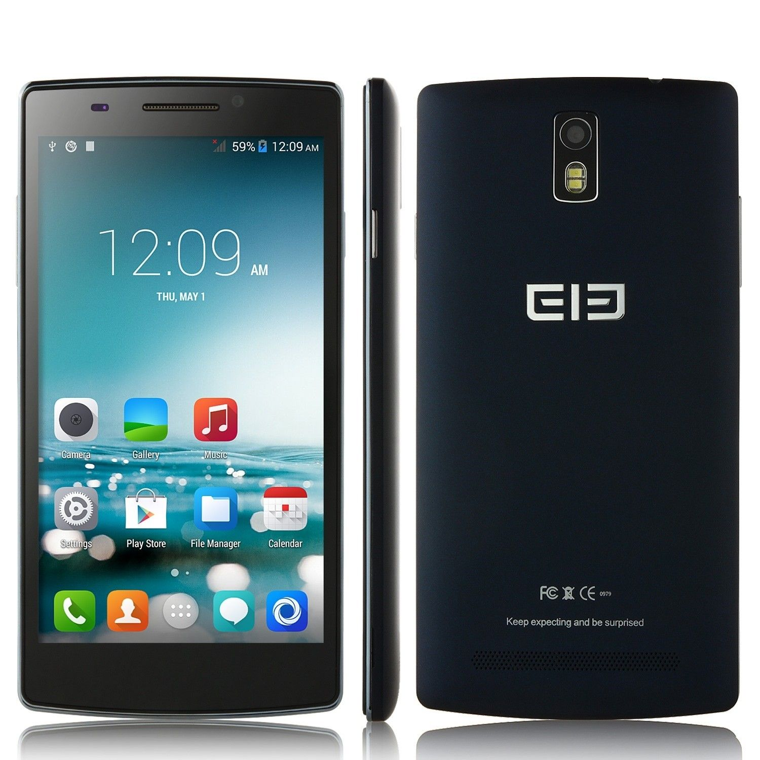 Elephone G5 5.5 Inch HD Smartphone MTK6582 Android 4.4 1GB