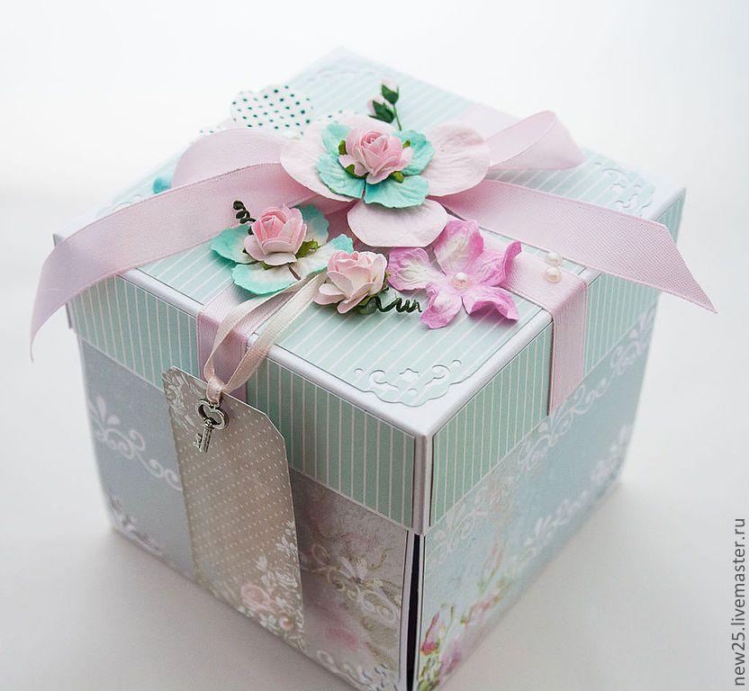 Своими, подарочная коробка с открыткой