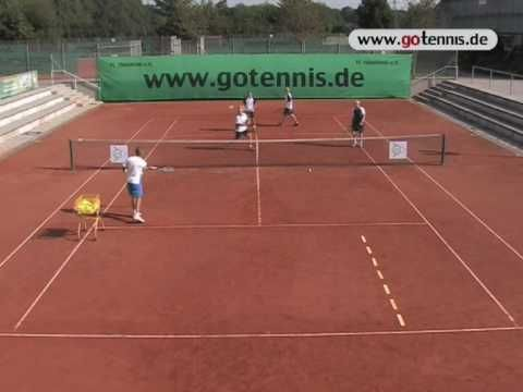 Tennis Training Video Volley Techniques Group Drill Youtube Tennis Drills Tennis Workout Tennis