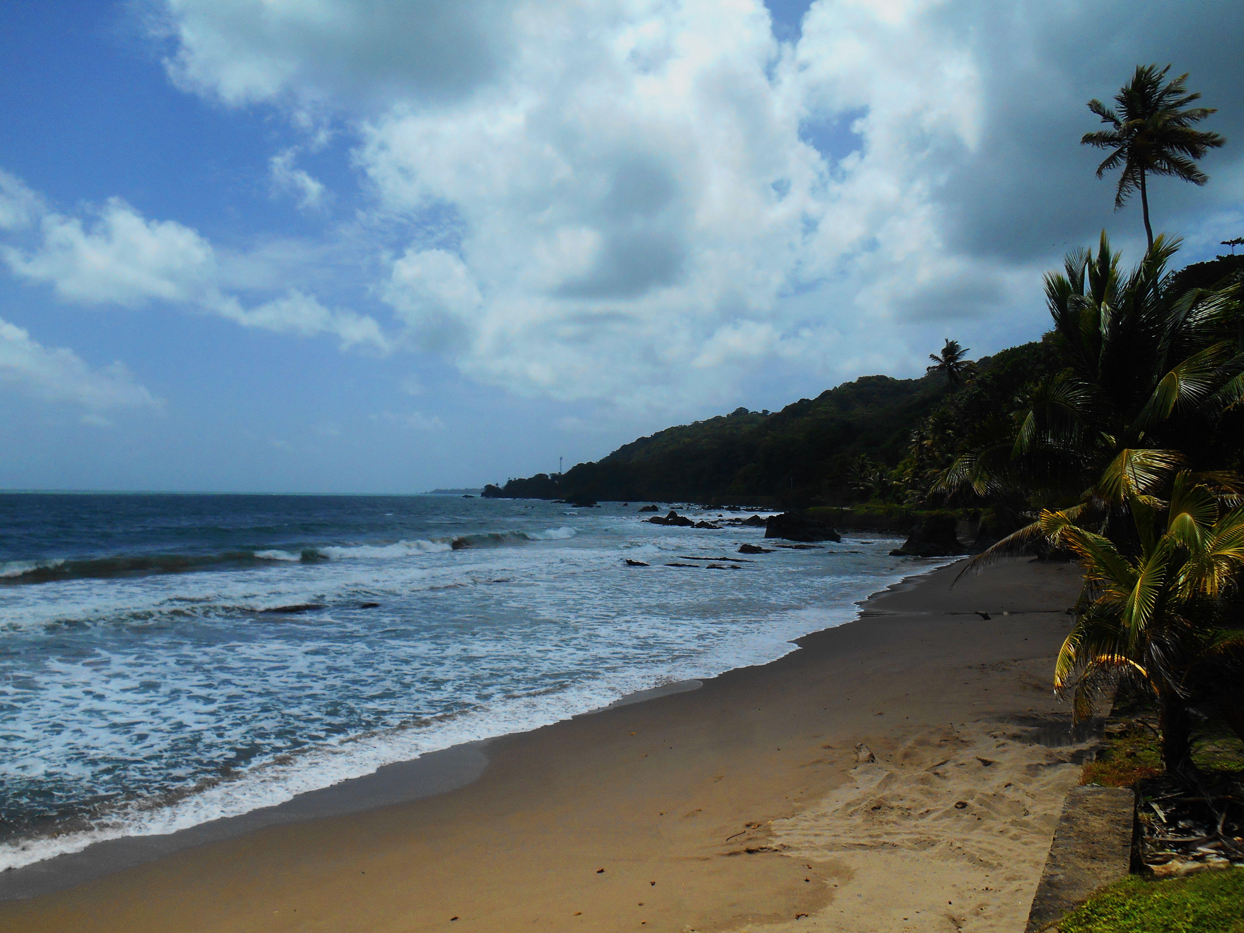 Beach near matelot trinidad beautiful caribbean