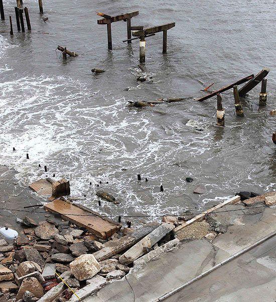 Sandy, Atlantic City, New Jersey