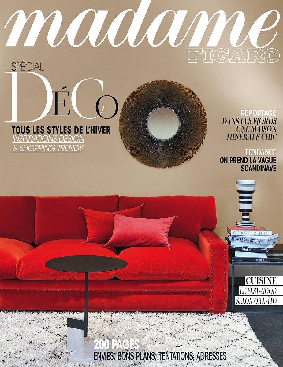 """""""Spécial déco"""", le Madame Figaro du 18 octobre 2013"""