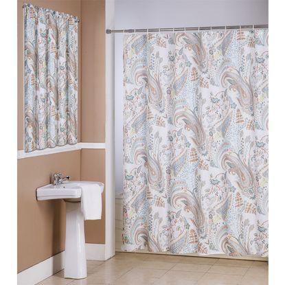 Manggou Leaves Fabric Shower Curtain Waterproof Polyester Https