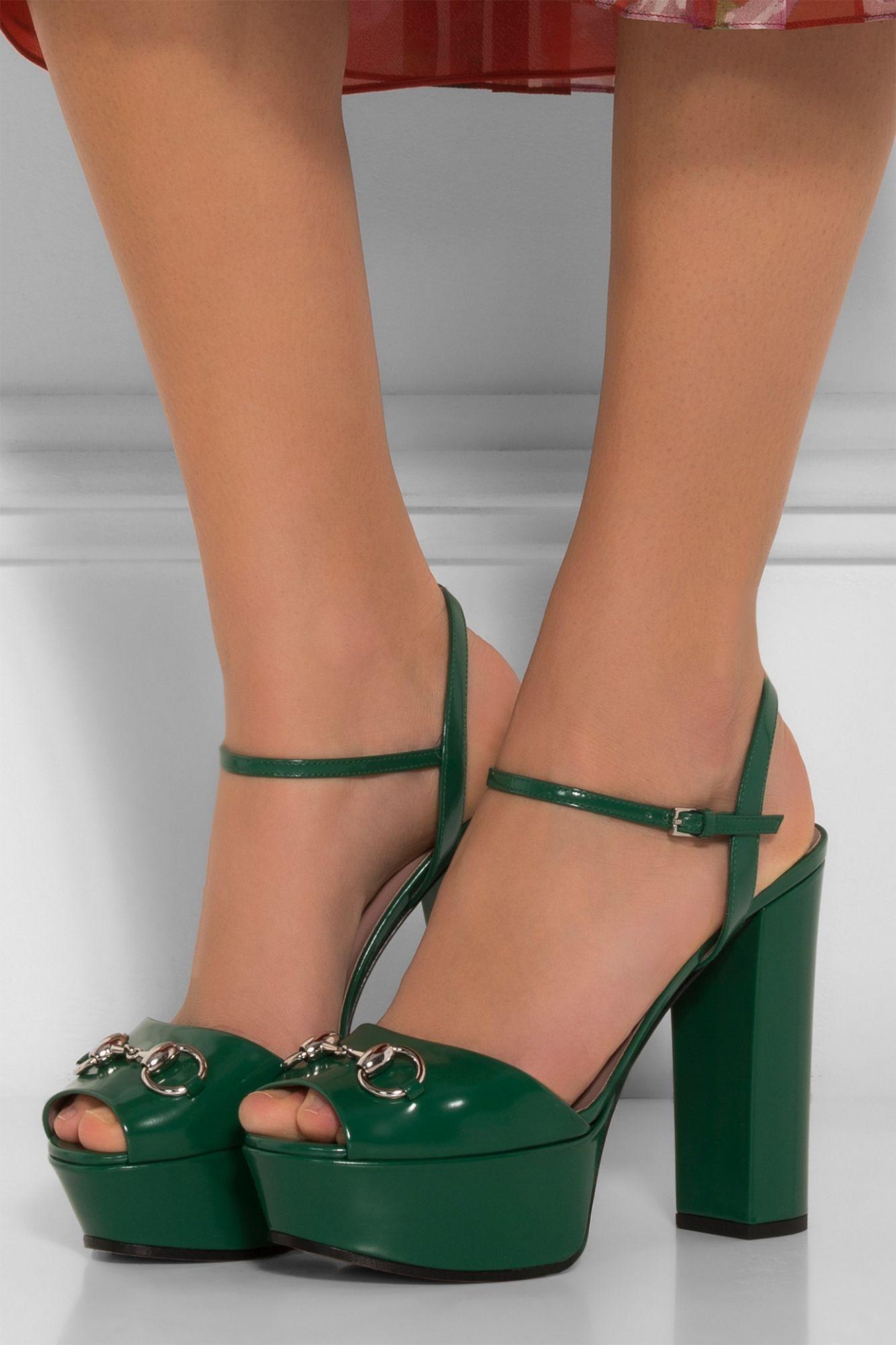 Horsebit Platform Sandals | Gucci