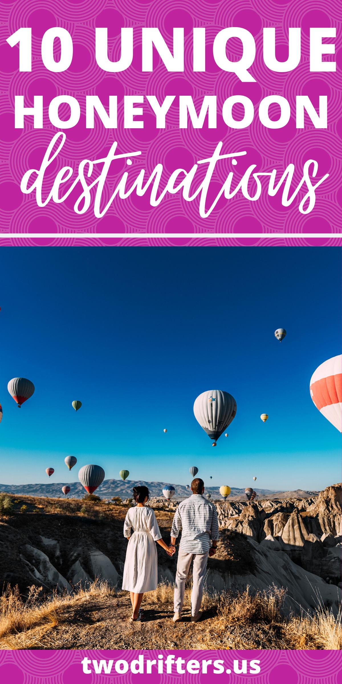 The Best Honeymoon Destinations For Adventurous Couples