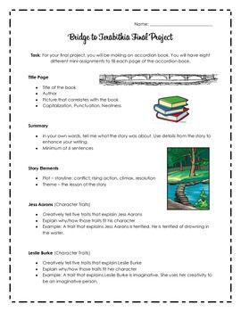 bridge to terabithia final Bridge to terabithia summary - bridge to terabithia by katherine paterson summary and analysis.