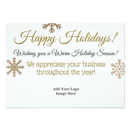 Happy holidays professional custom business card holiday cards happy holidays professional custom business card holiday card diy personalize design template cyo cards idea m4hsunfo