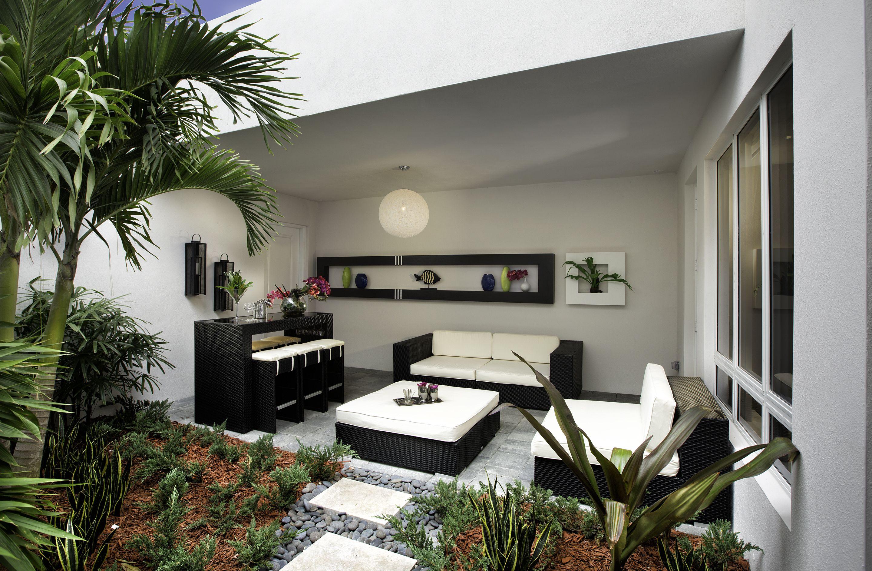 Merveilleux Landmark 2 Story Townhome | Model A | Doral Living | Modern Homes | Patios