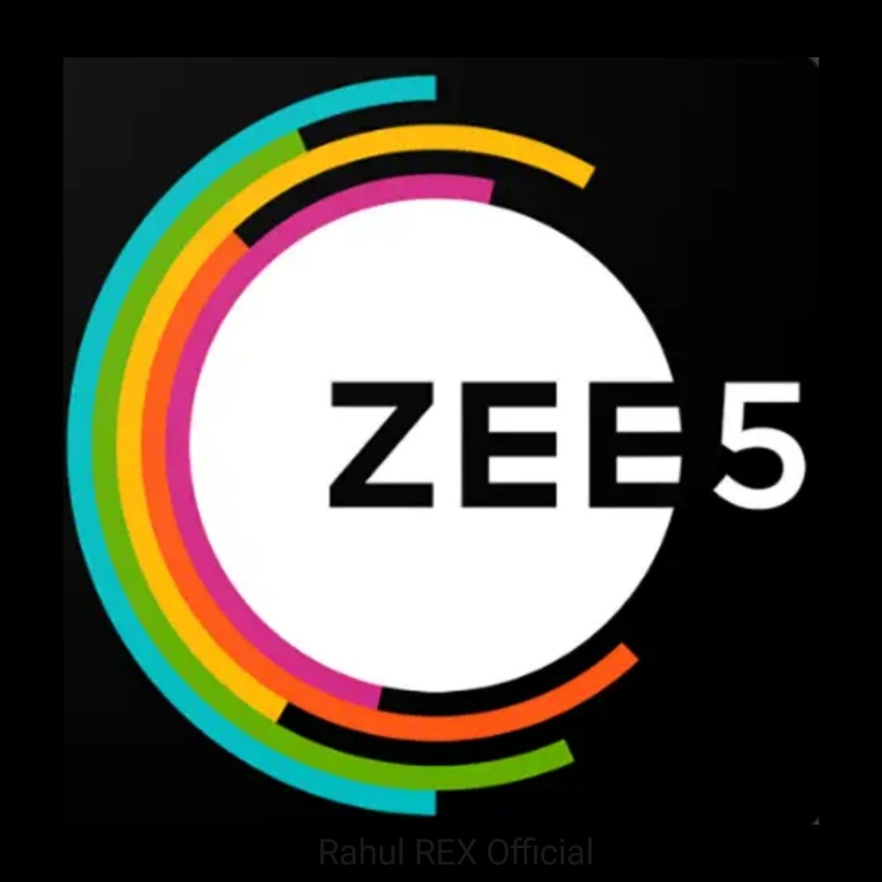 Zee 5 TV/WebSreies/Movies Platform Rahul REX Logo