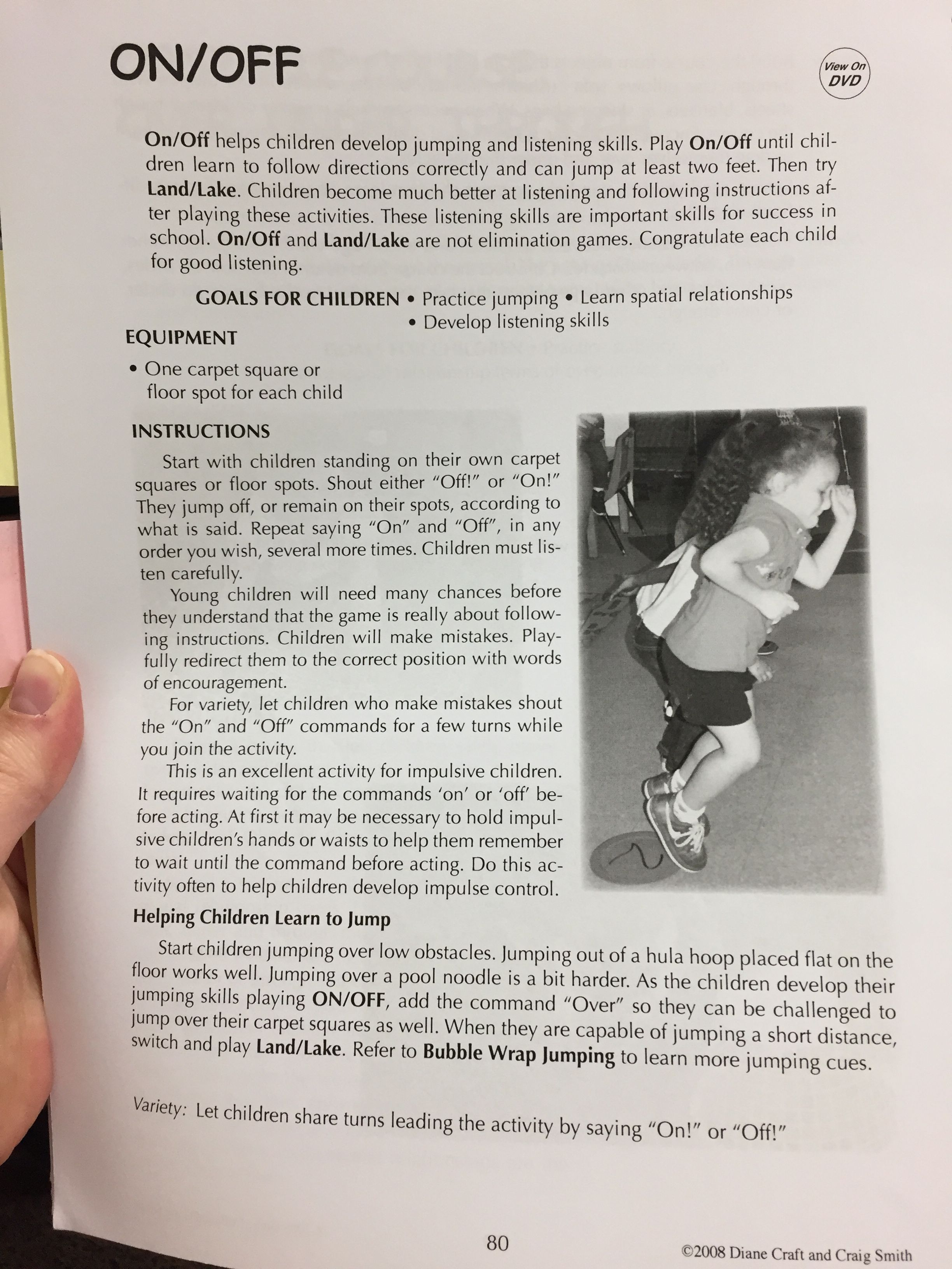 Movement activity for preschoolers | Teaching methods ...