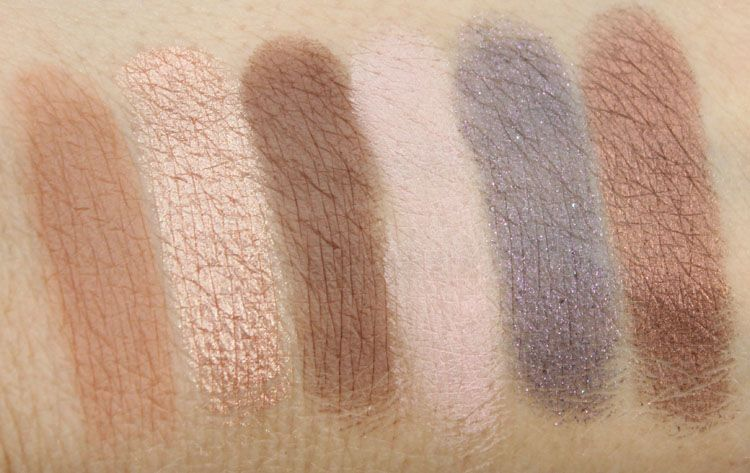 Too Faced Chocolate Bar Swatches