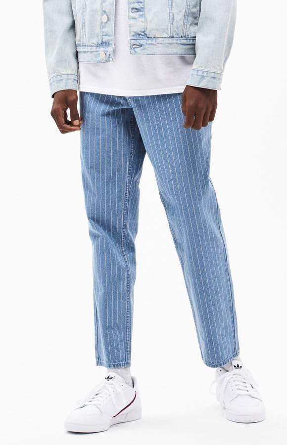 35bb1032daf8e Light Stripe Slim Taper Jeans in 2019