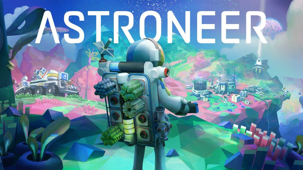 Astroneer Is A Co Op Space Sandbox Launching On Ps4 This Fall Cool Gifs Game Art Video Game Art