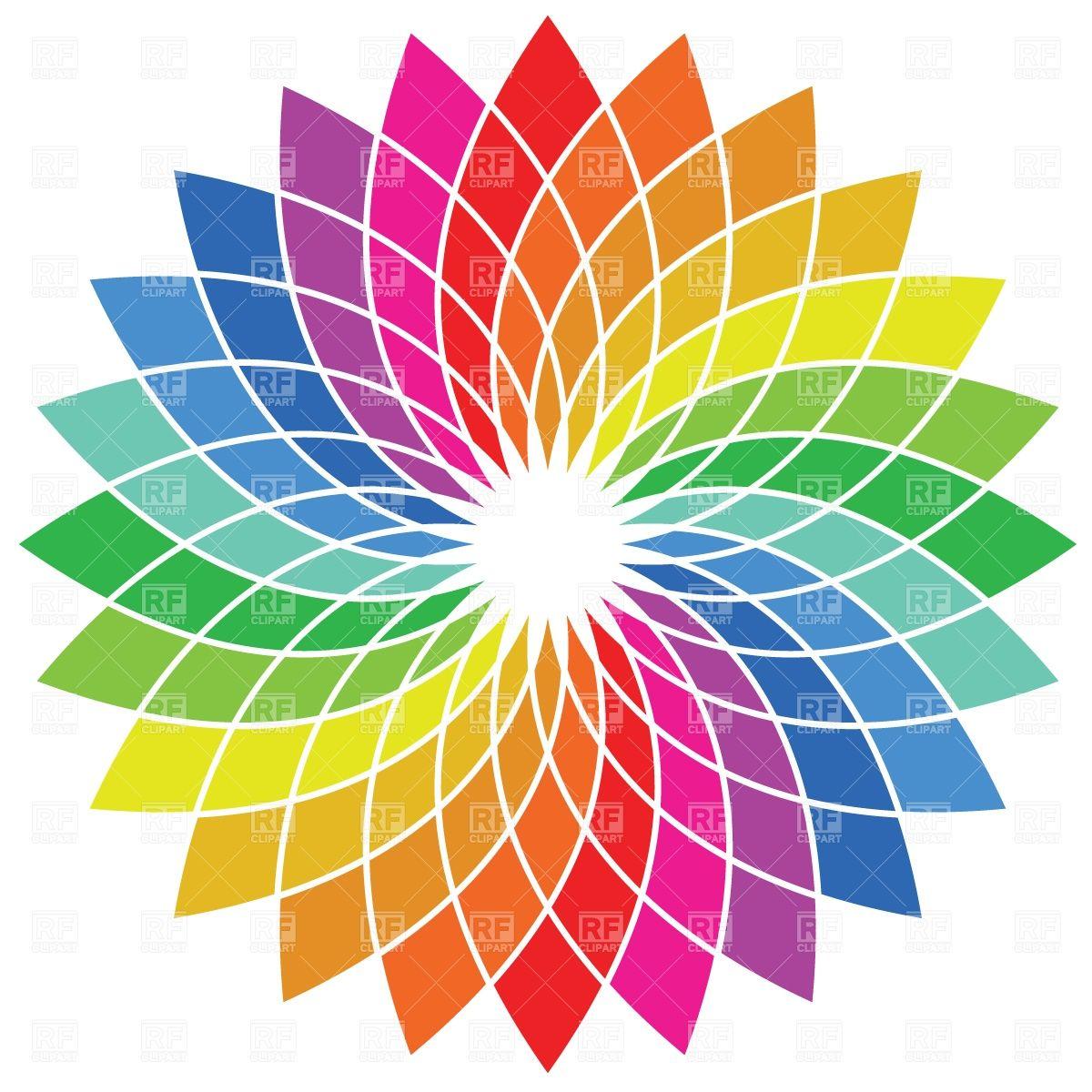 Color Wheel Palette Vector Image Vector Artwork Of Backgrounds