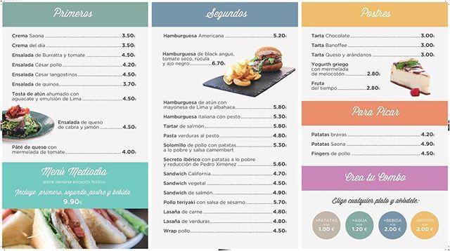"""¡¡#APERTURA!! ¡Nuestro nuevo concepto de #restaurante, QUICK SAONA """"Home made quality"""", abre hoy sus puertas en @ccbonaire! ¡Os dejamos la carta para que vayáis abriendo el apetito! :) #Apertura #FelizJueves #QuickSaona #Valencia #Foods #Foodie #FoodPorn #instagram #homemade #comer #comidacasera #instalike #picoftheday #GrupoSaona #bonito #cenar #gastro #gastronomía #carta #Yummy #bueno #restaurant #love  Yummery - best recipes. Follow Us! #foodporn"""