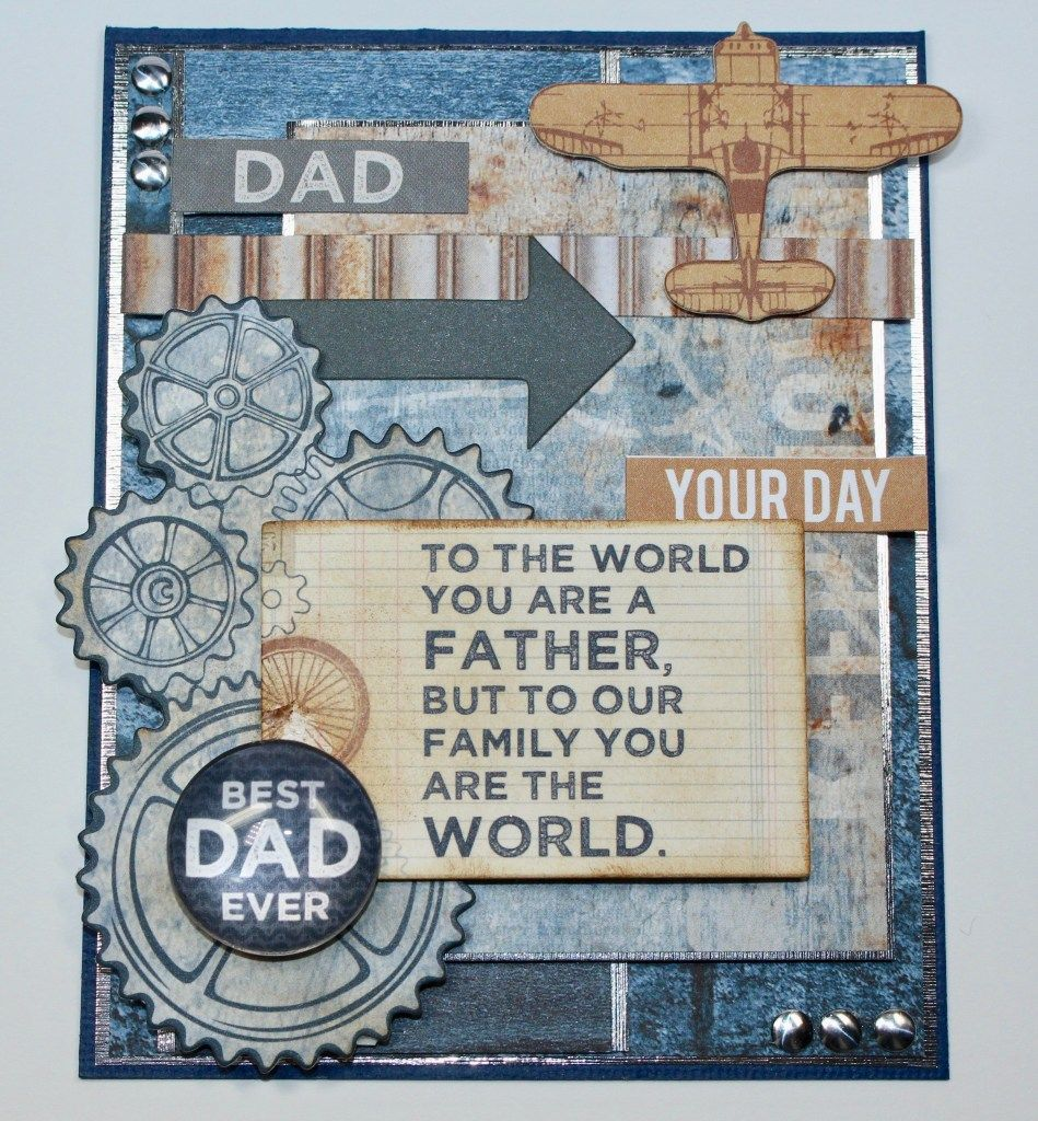 YOU/'RE THE BEST CARDSTOCK STICKERS Father Dad Scrapbooking Card Making Stamping