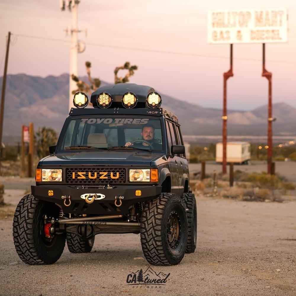 Project 1988 Isuzu Trooper Build Catuned Off Road Trooper